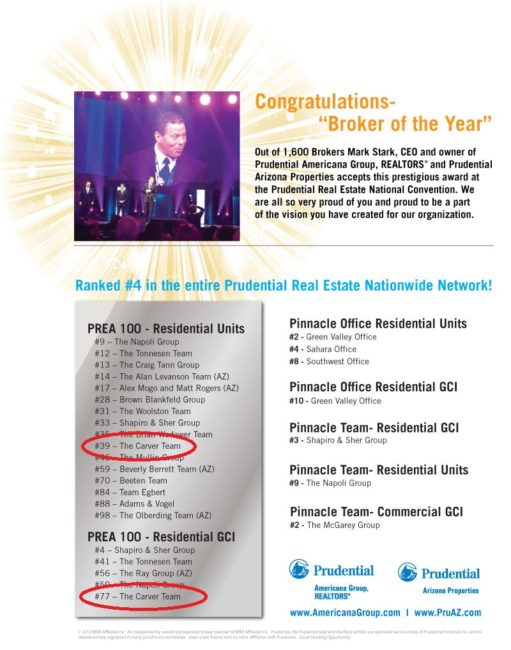 prea broker of the year
