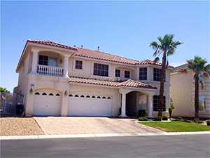 Discreet Short Sale Las Vegas Home Example